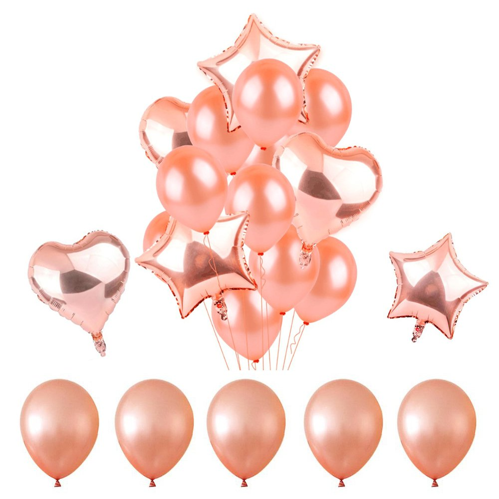 Amazon.com: Rose Gold Balloons Party Decorations.