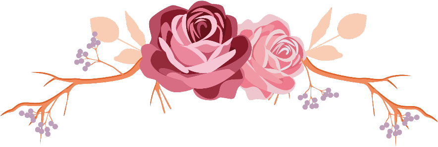 HD #flowers #rose #roses #leaves #branch #divider #border.