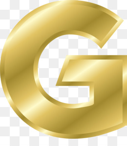 Gold Letters PNG.