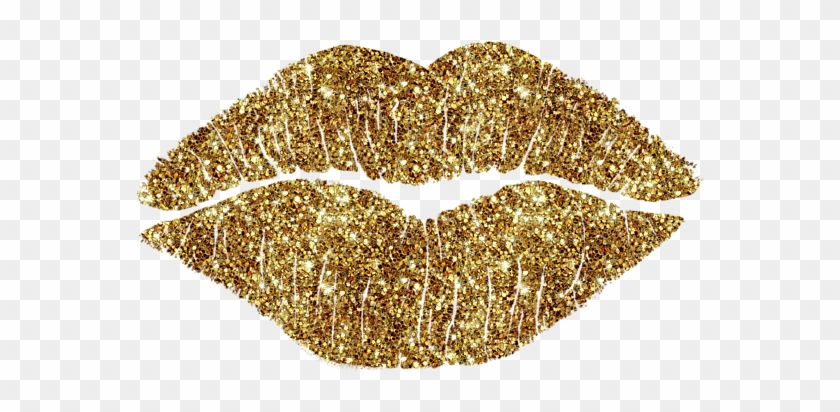 Gold Lips Png For.