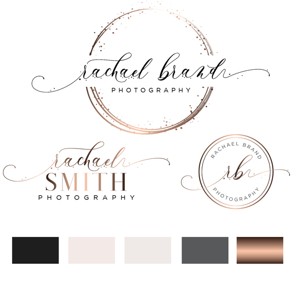 Rachael Brand Logo Set.