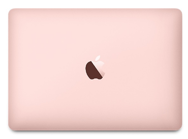Rose gold Macbook. Why am I just now seeing this.