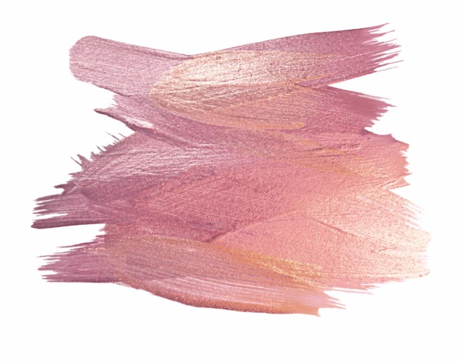 ftestickers #watercolor #brushstroke #oilpaint #rosegold.