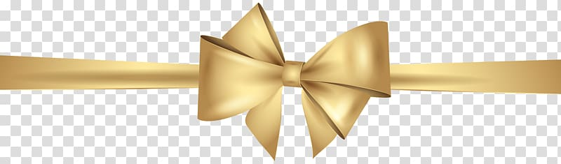 Yellow ribbon illustration, Gold Ribbon , Gold Bow.