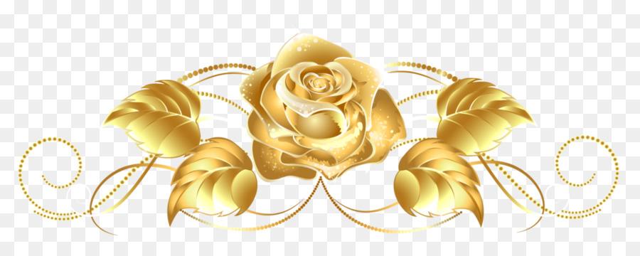 Rose Gold Flower.