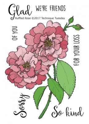 Ruffled Rose.