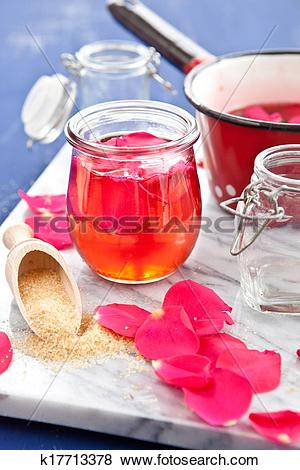 Pictures of Homemade rose jelly k17713378.