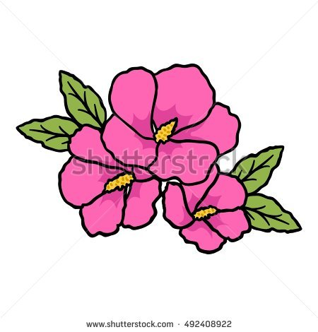 Rose Of Sharon Stock Photos, Royalty.