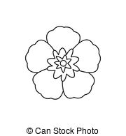 Rose sharon Vector Clipart EPS Images. 61 Rose sharon clip art.