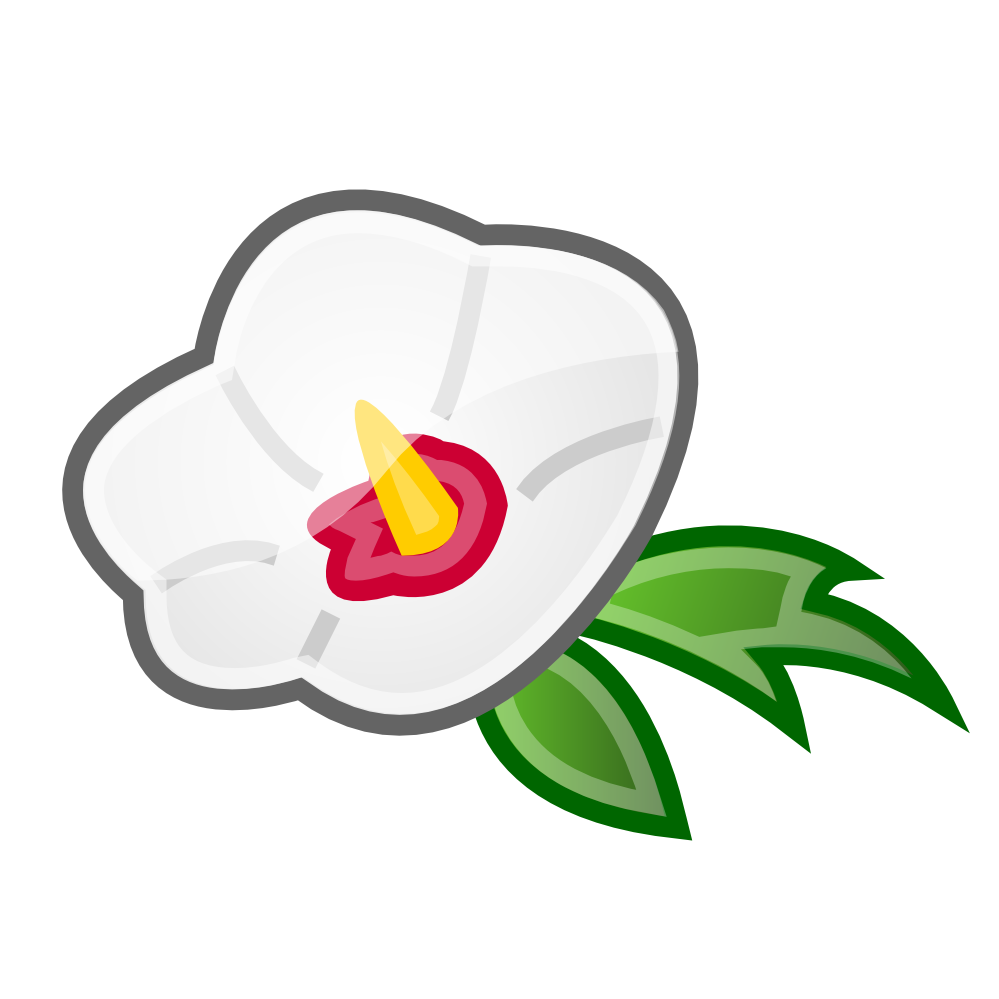 clipartist.net » Clip Art » rose of sharon icon SVG.