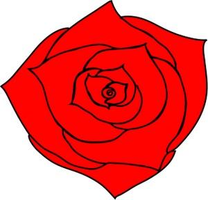Clip Art Roses Red.