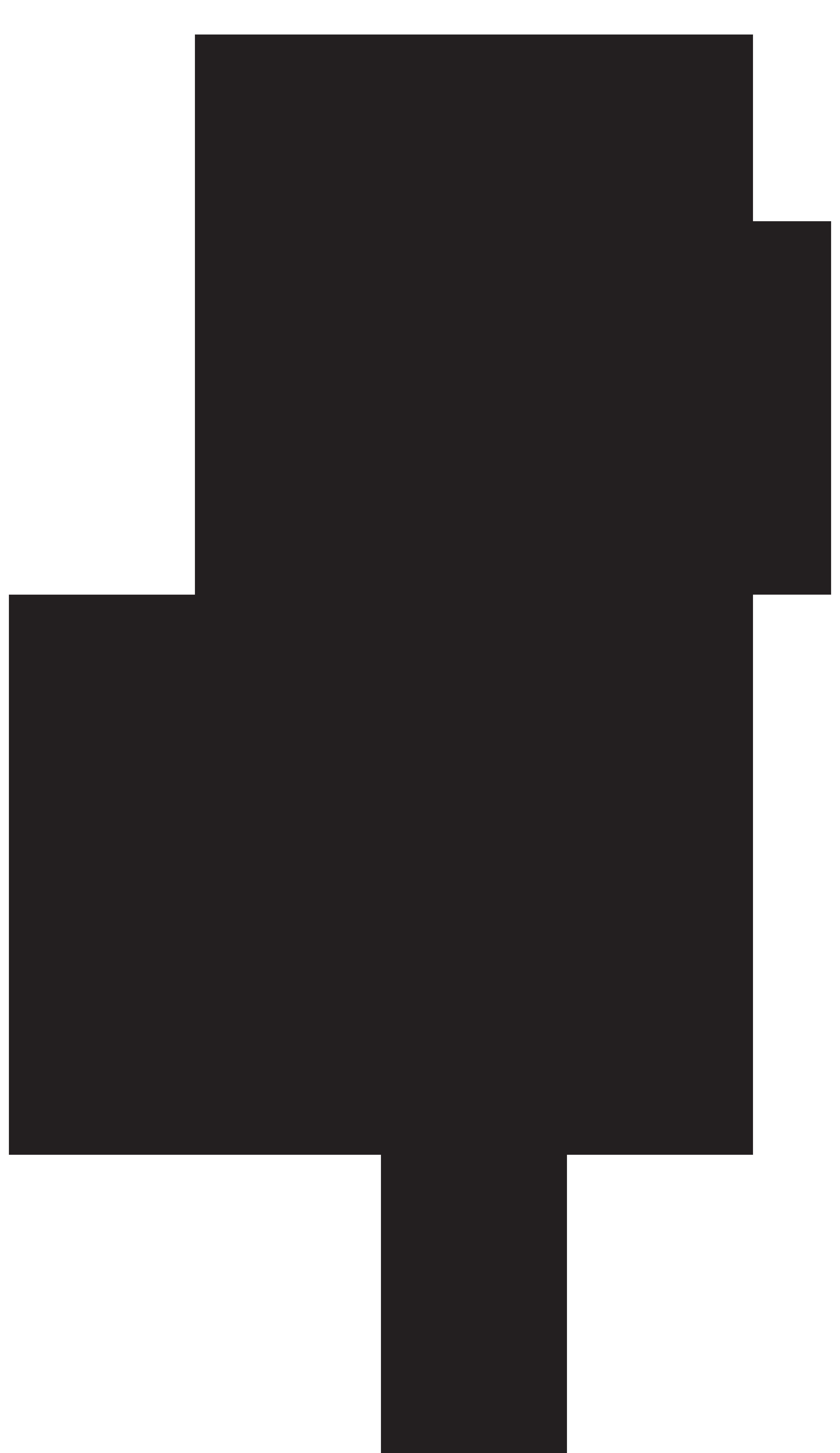 Rose Silhouette PNG Transparent Clip Art Image.