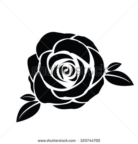 Rose Vector Stock Images, Royalty.