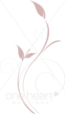 Rose Stem Clipart.