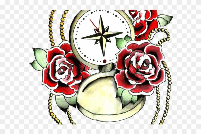 Rose Tattoo Clipart Animal.