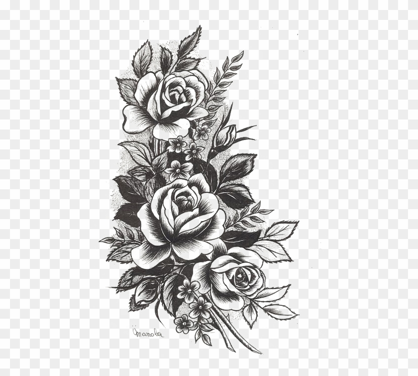 Rose Tattoo Png High.