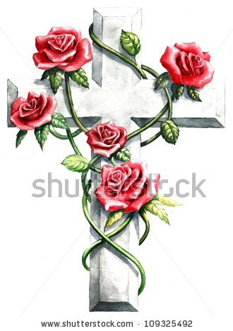 Rose Vine Stock Images, Royalty.