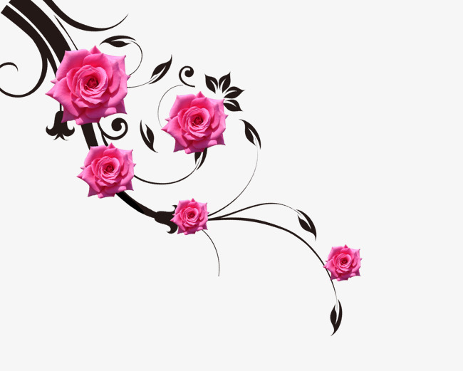 Rose vines clipart 4 » Clipart Station.