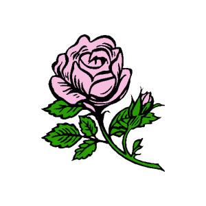 Rosebud Clipart.