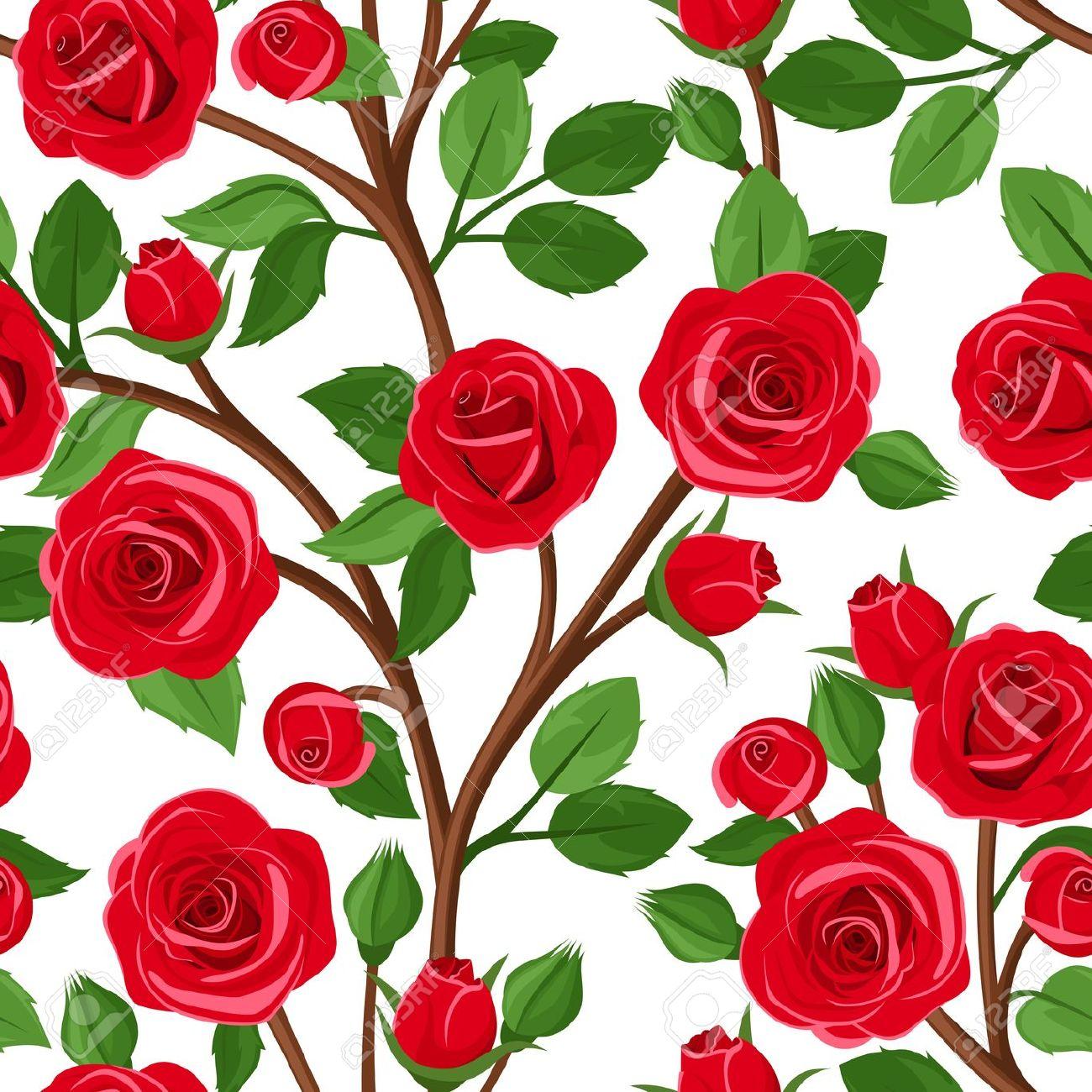 Clipart rose bush.