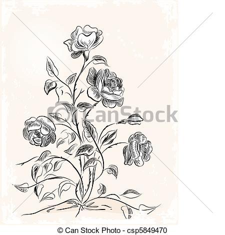 Rosen Stock Illustrationen Bilder. 88.108 Rosen Illustrationen von.