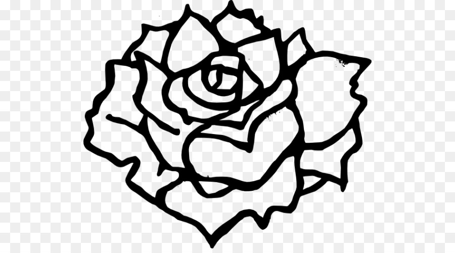 Roses clipart black and white 5 » Clipart Station.