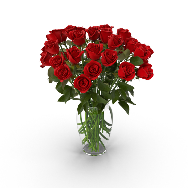 Red Rose Bouquet in Vase PNG Images & PSDs for Download.