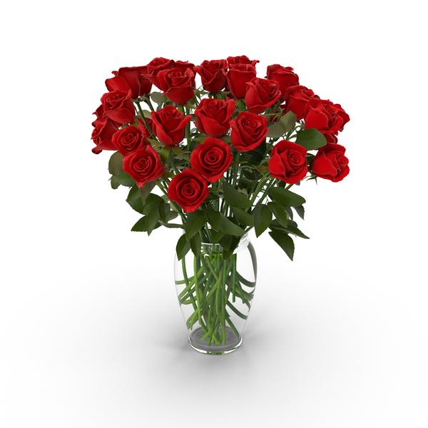 Red Rose Bouquet in Vase PNG Images & PSDs for Download.