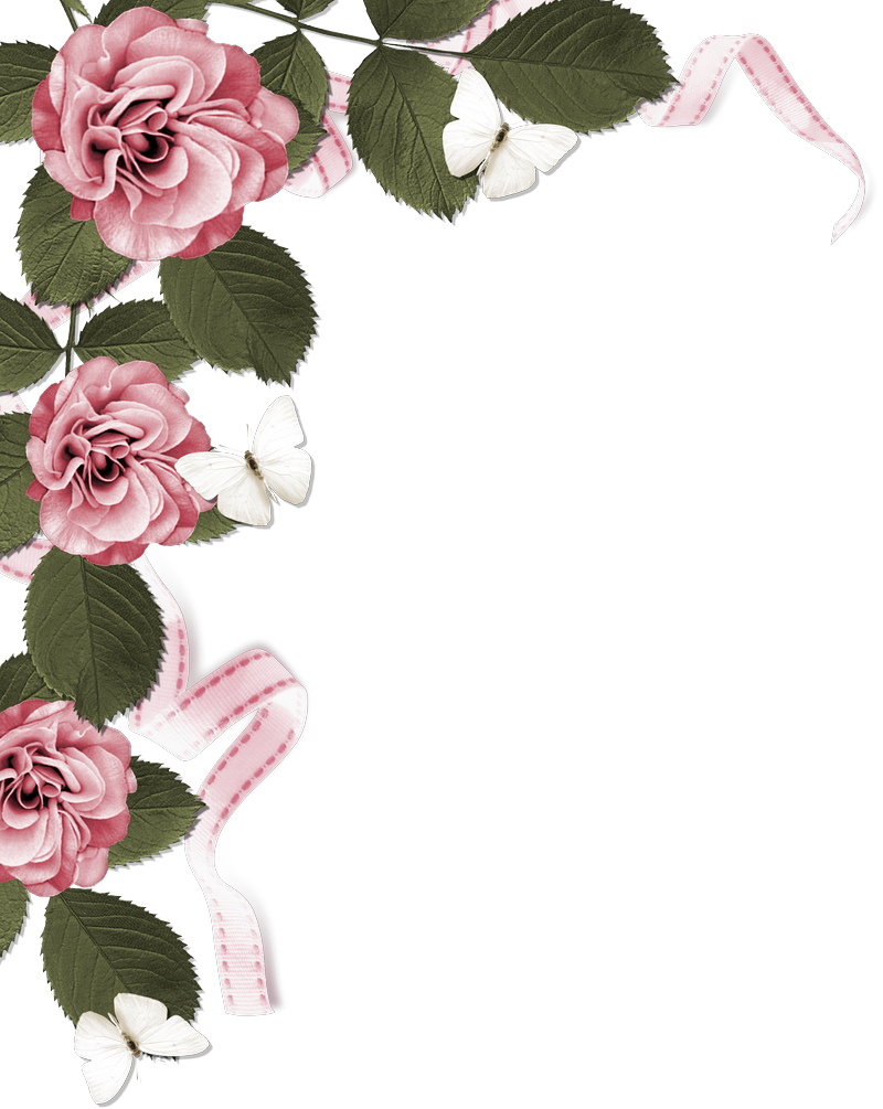Rose Page Border Pictures to Pin on Pinterest.