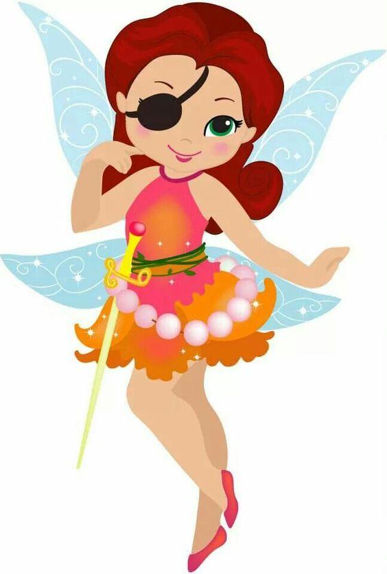 Rosetta The Pirate Fairy.
