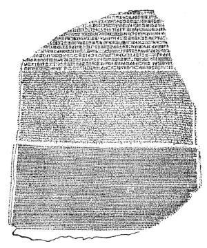 Rosetta Stone Clipart.