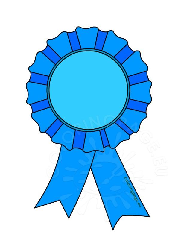 Award rosette clip art.