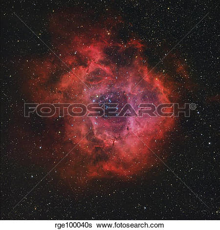 Stock Images of The Rosette Nebula rge100040s.