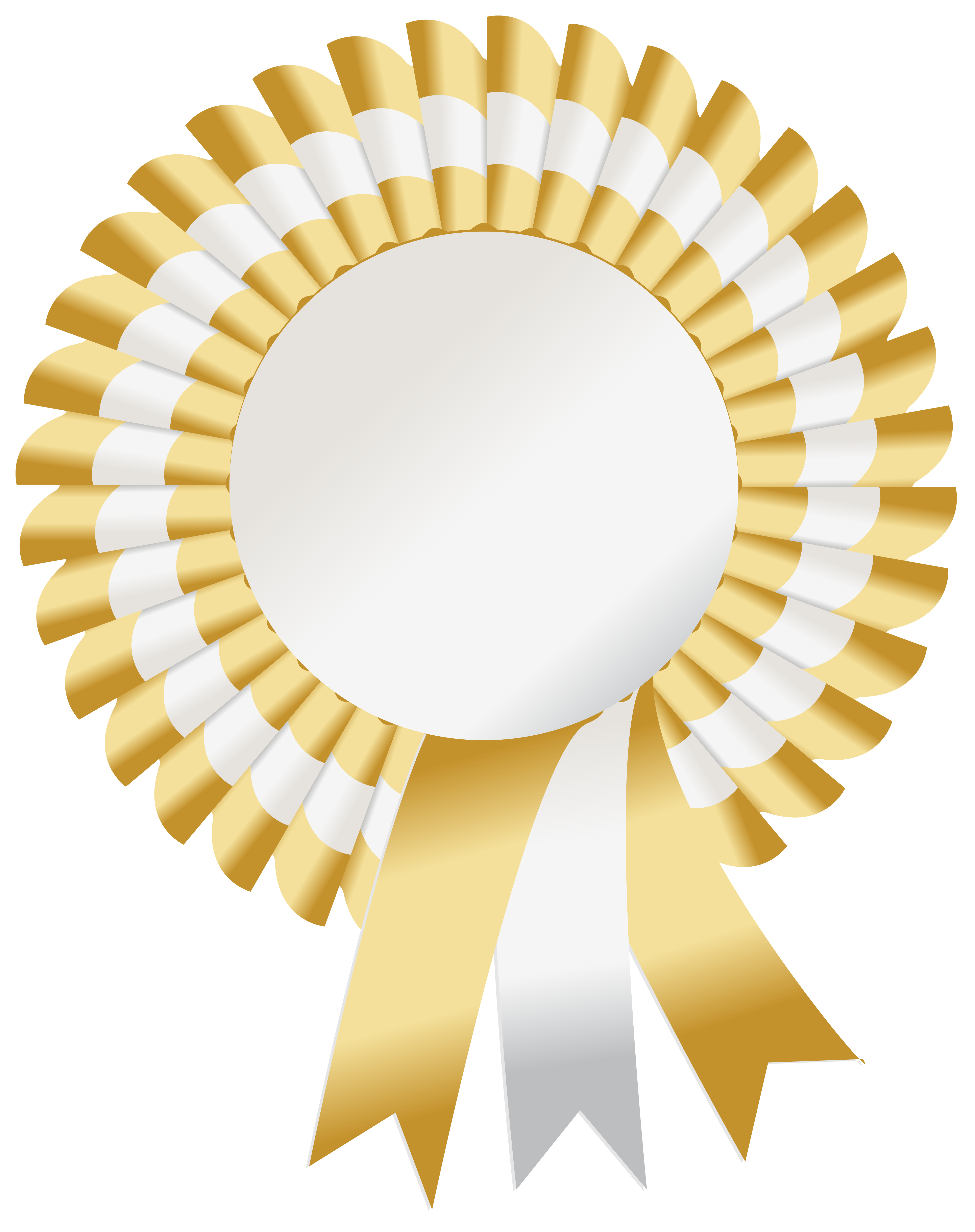 Rosette PNG Clipart Image.