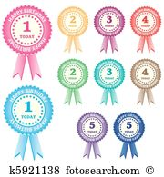 Rosettes Clip Art EPS Images. 9,104 rosettes clipart vector.
