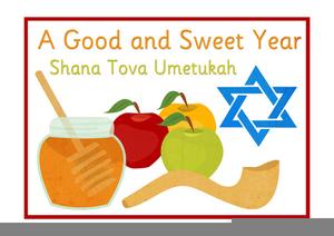 Rosh Hashanah Greetings Clipart.