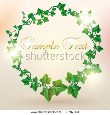 Ivy Vine Stock Images, Royalty.