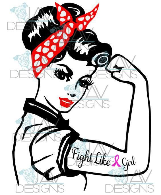 Rosie The Riveter Drawing.
