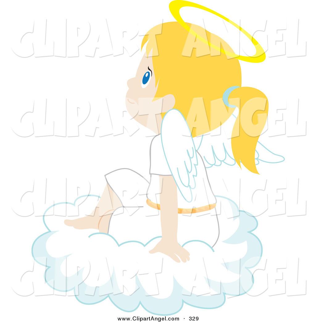 Royalty Free Cloud Stock Angel Designs.