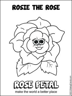 rosie girl scout flower petal clipart clipground daisy scout flower friends flower daisy scouts coloring sheets