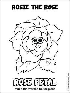 Gerri Girl Scout Flower Petal Clipart.