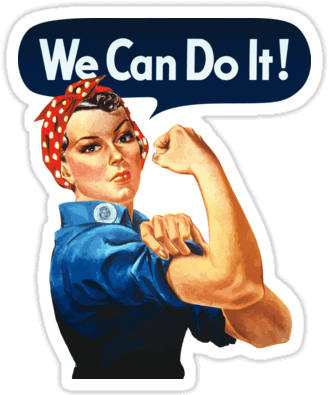 Download We Can Do It Sticker.