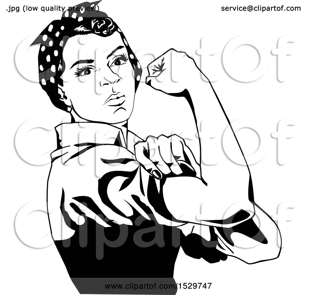 Free rosie the riveter clipart 2 » Clipart Station.
