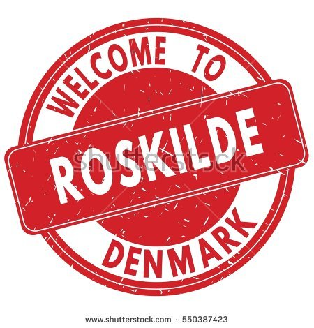 Roskilde Stock Photos, Royalty.