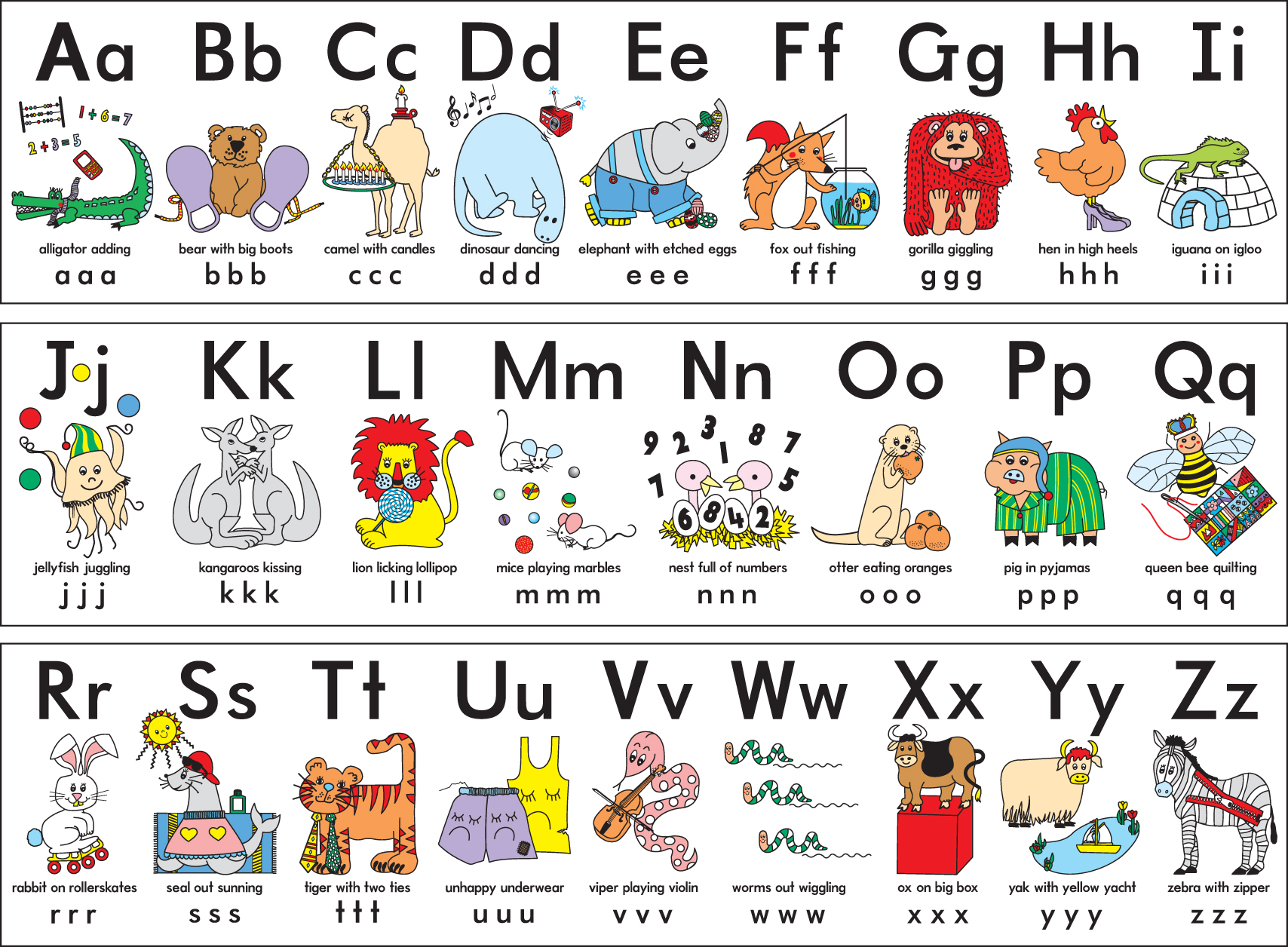 The Alphabet.
