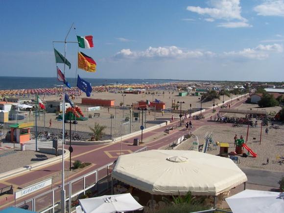 The Beach at Rosolina Mare.