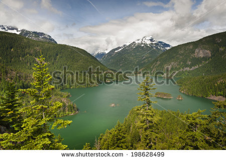 Cascade Mountains Washington Stock Photos, Royalty.