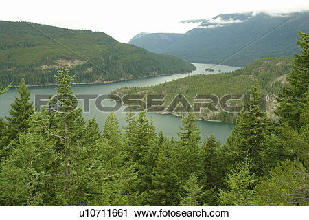 Stock Photography of North Cascades, WA, Washington, Okanogan.