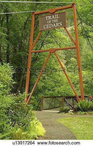 Stock Photo of Newhalem, WA, Washington, North Cascades, Okanogan.