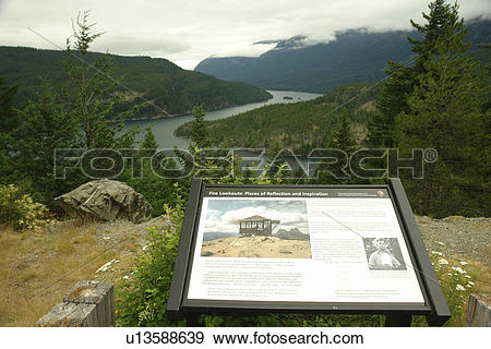 Stock Photograph of North Cascades, WA, Washington, Okanogan.
